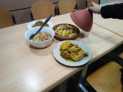 Tajine avec les Marocains